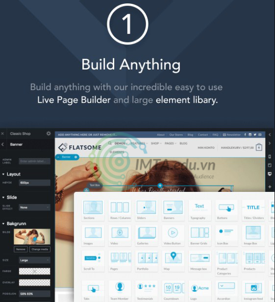 UX Builder của Flatsome
