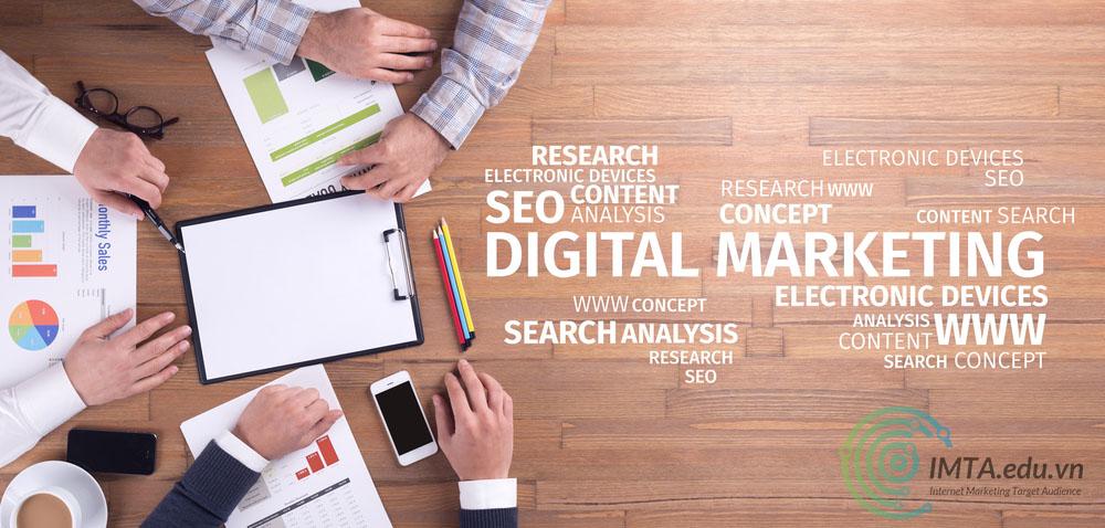 Khác nhau giữa Digital Marketing và Marketing Online