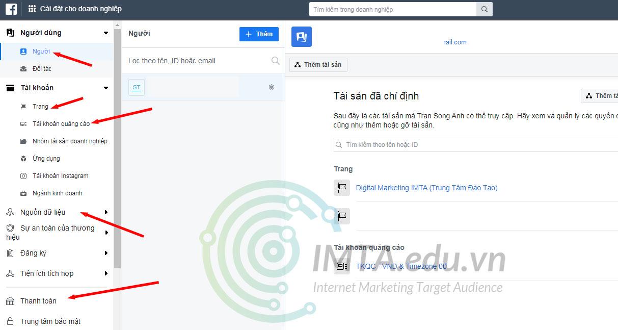 Trình quản lý kinh doanh Facebook