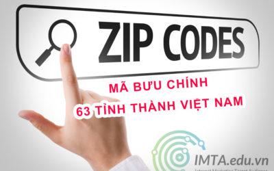 Mã Bưu Điện (Zip Code) Việt Nam – Tra Mã Bưu Chính Mới Nhất 2020