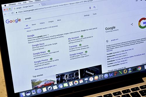Nguyên lý và thuật toán sắp xếp kết quả của Google