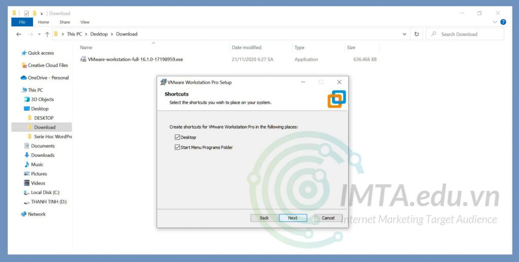 Tạo Shortcode truy cập nhanh trên Desktop