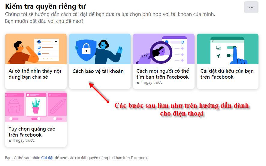 Cách bảo vệ tài khoản Facebook