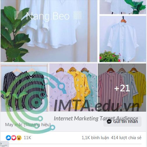 Viết content quảng cáo Facebook
