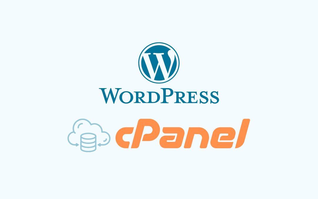 Hướng dẫn cài WordPress lên hosting cPanel