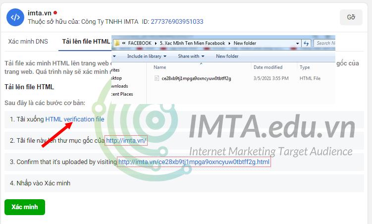 download file xác minh html