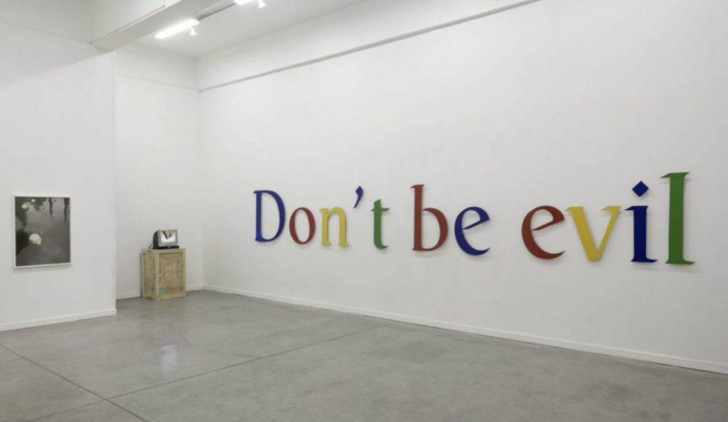 Một góc văn phòng của Google