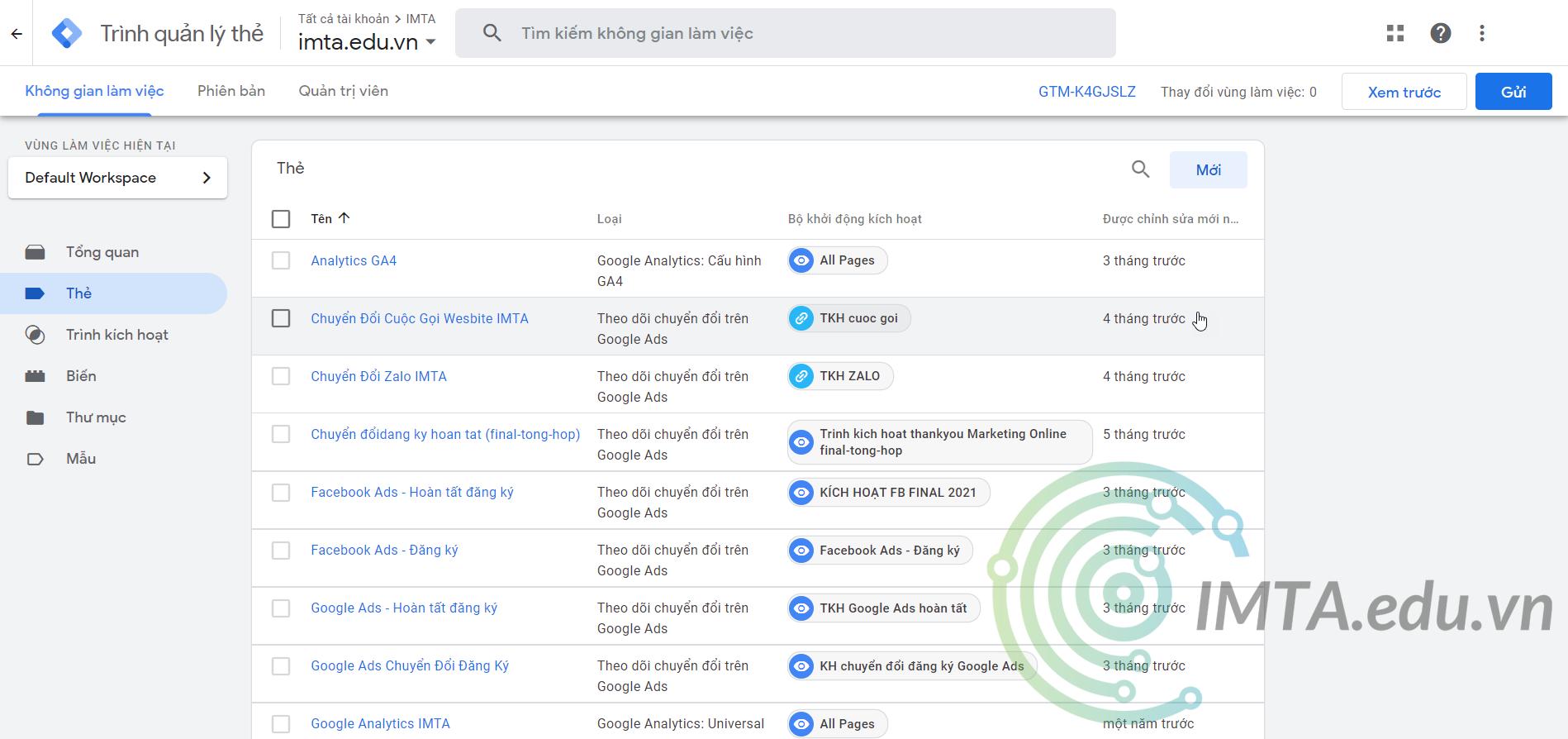 Google Tag Manager (GTM) là gì