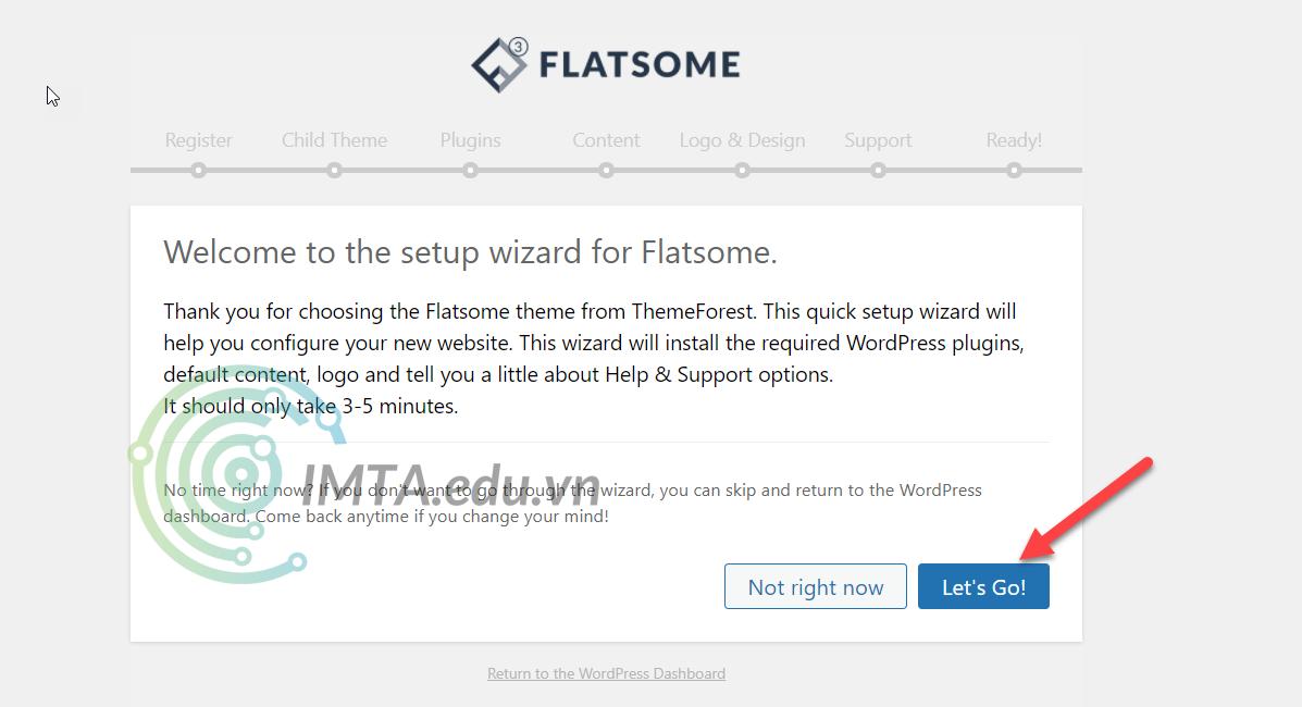 Bắt đầu cấu hình Flatsome