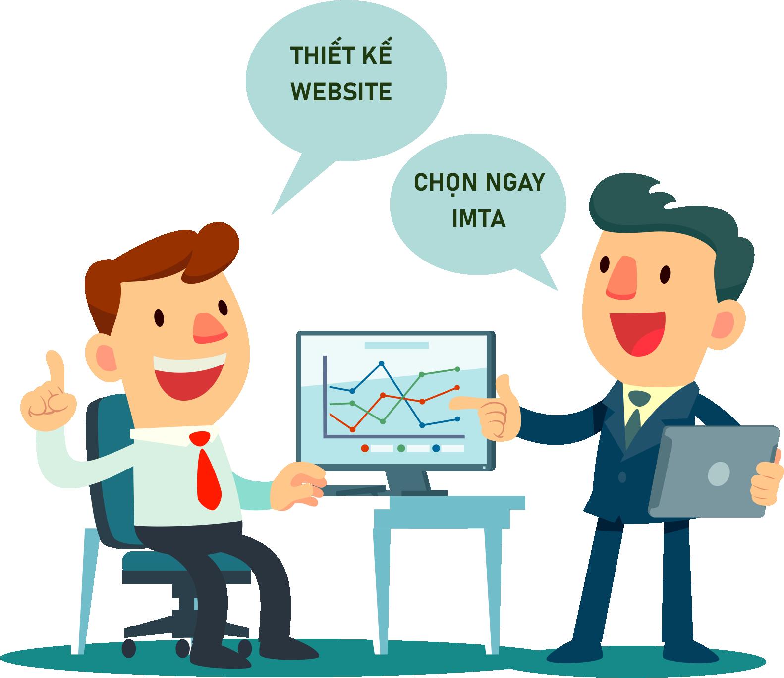 Thiết kế website chọn IMTA