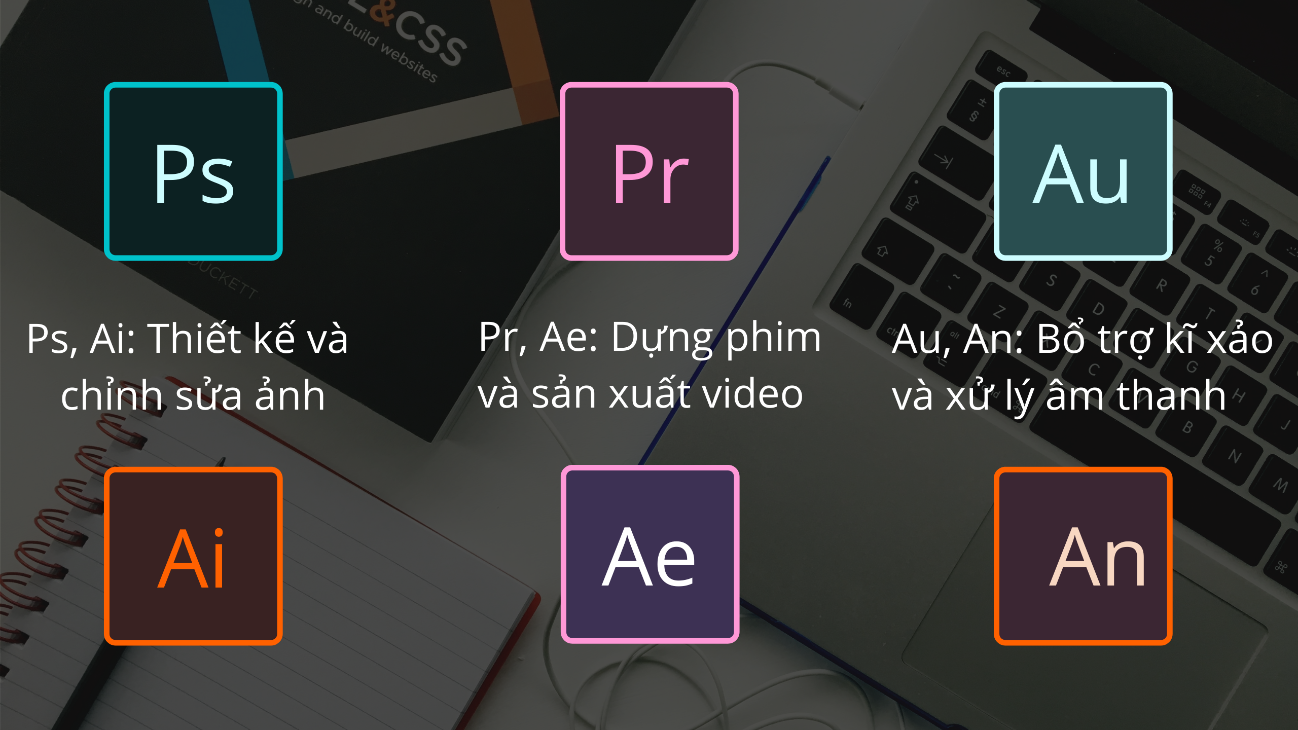 Những phần mềm chuyên nghiệp phổ biến hiện được Designer sử dụng