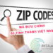 Mã bưu chính Zipcode